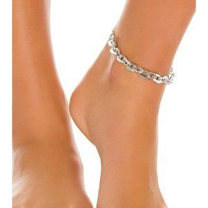 NEW 8 Other Reasons Rock My World Silver Anklet